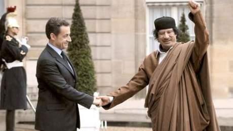 Khadafi Sarko gardien de la paix
